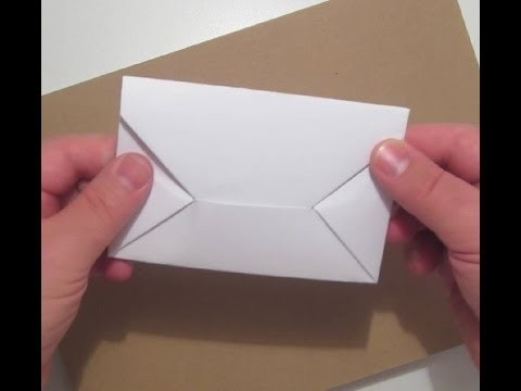 How to make a simple Origami Envelope ?