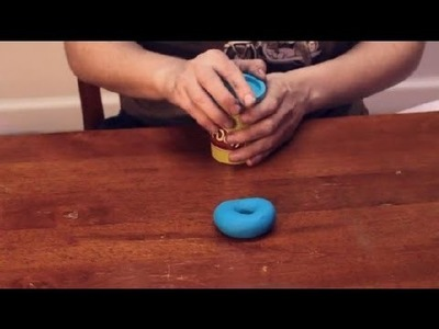 How to Make an Inner Tube With Play-Doh : Sculpting Crafts & More