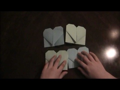 How to make an Origami Clover