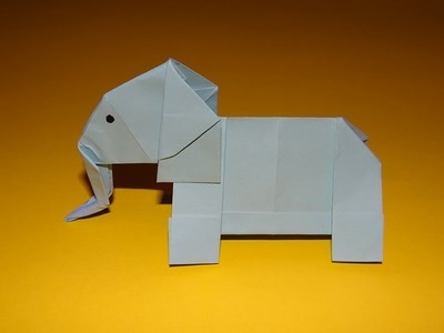 How To Make An Origami Elephant