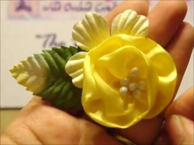 How to make Beautiful Silk Flowers from WOC products