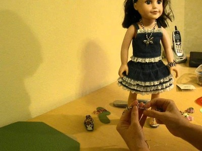 How to Make Doll Sandals using Seed Beads