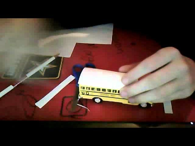 How to model a model school bus