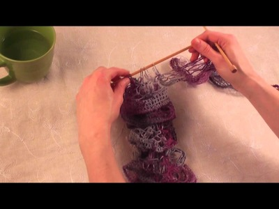 Knitting with Patons Pirouette