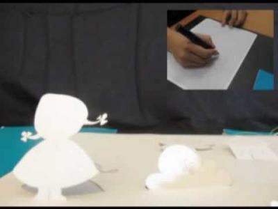 Magic Popup: Dynamic DIY Interactive Paper Pop-up
