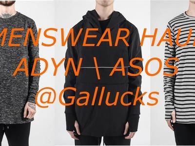 Mens Fashion Haul ADYN. ASOS | Gallucks