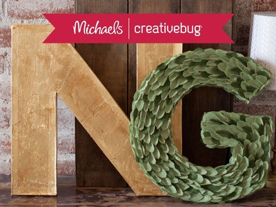 Paper Wedding Crafts: Make 3-D Monogram Letters l Class Preview