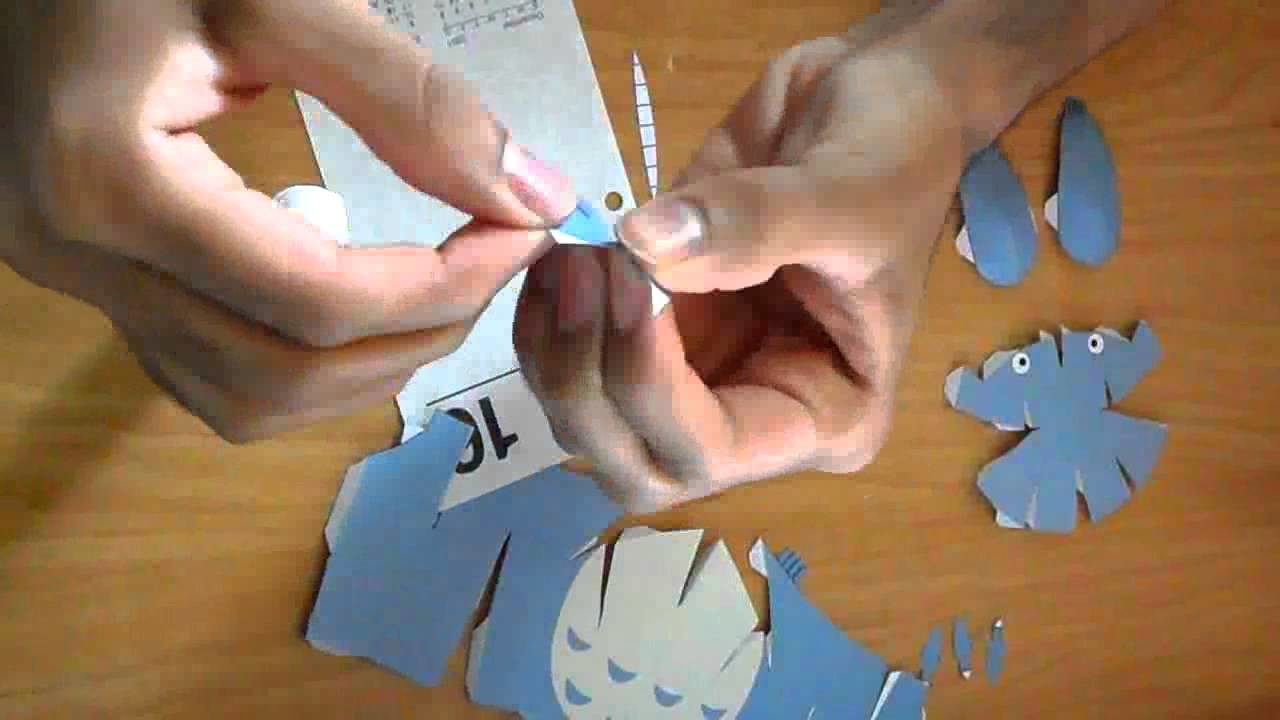 Papercraft Projects: Totoro