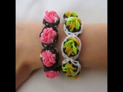 Rainbow Loom- How to Make a Celtic Bubble Bracelet (Original Design)