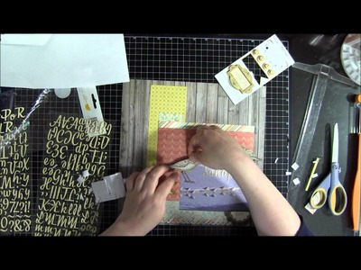 Scrapbook Layout: Process Video