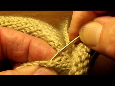 Seaming Knitting with the Bickford method