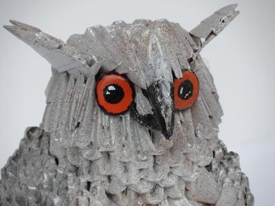 SPLENDID OWL ORIGAMI 3D GUFO.