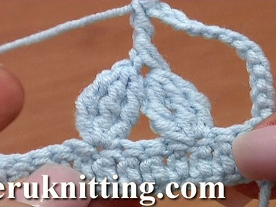 Two 3-Double Treble Crochet Clusters Together Treble Post Above Tutorial 31 Complex Crochet Stitches
