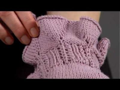 #27 Fingerless Gloves, Vogue Knitting Spring.Summer 2009