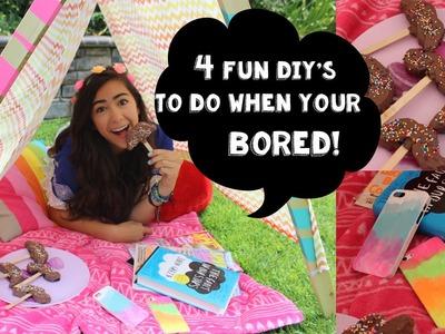 4 Fun DIY's To Do When Your Bored!