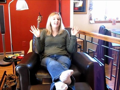 A tour of my knitting chair