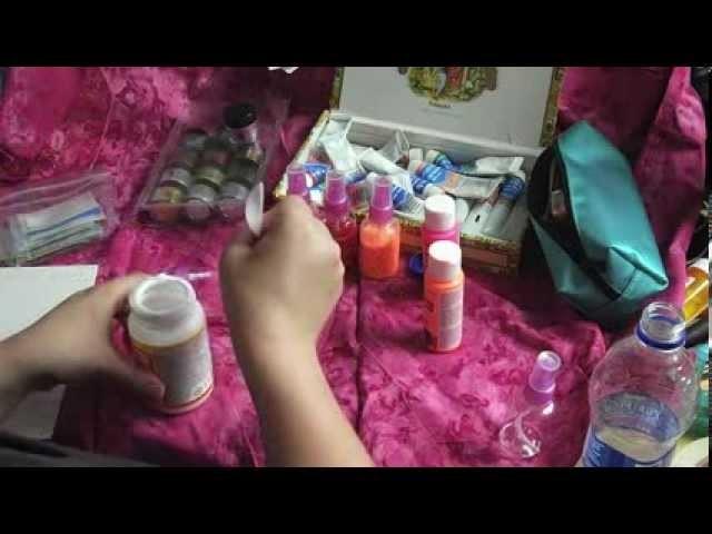 Art Journal Tutorial: DIY Spray Paint