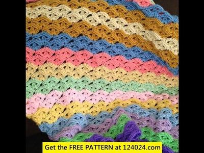 Bernat crochet baby blanket patterns free