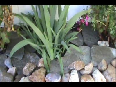 "Building the Raised ""Dry Stone"" Rock Planter diy"