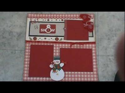 Christmas Scrapbooking Layout .  YTLH