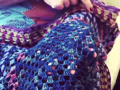 Coperta all'uncinetto - Crochet blanket