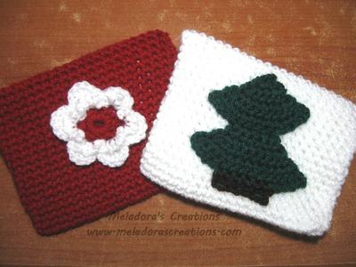 Crochet Envelope - For Valentine or Christmas or Birthdays
