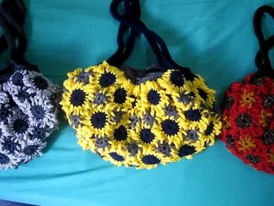Crochet Flower Purse 5