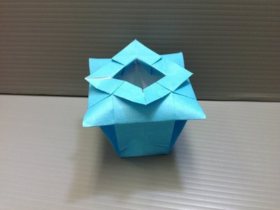 Daily Origami: 100 - Chinese Vase