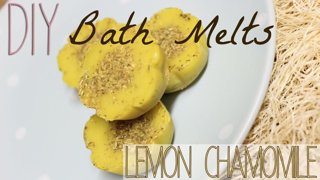 DIY Bath Melt Tutorial | Lemon Chamomile