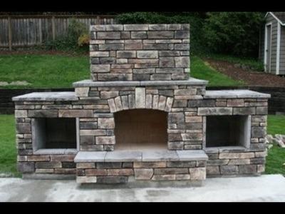 DIY - Building an outdoor fireplace