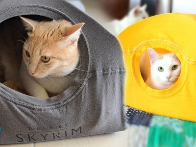 DIY Cat Tent (Pet Vs Pin!)