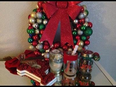 DIY: CHRISTMAS DECORATIONS