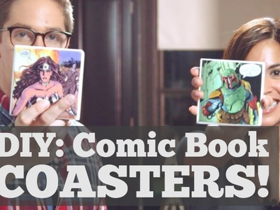 DIY: Comic Book Coasters w. Jennifer Landa | DweebCast | OraTV