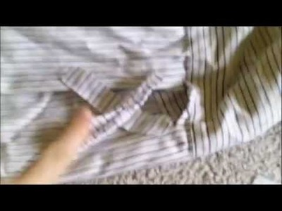 DIY Men's shirt reconstruction
