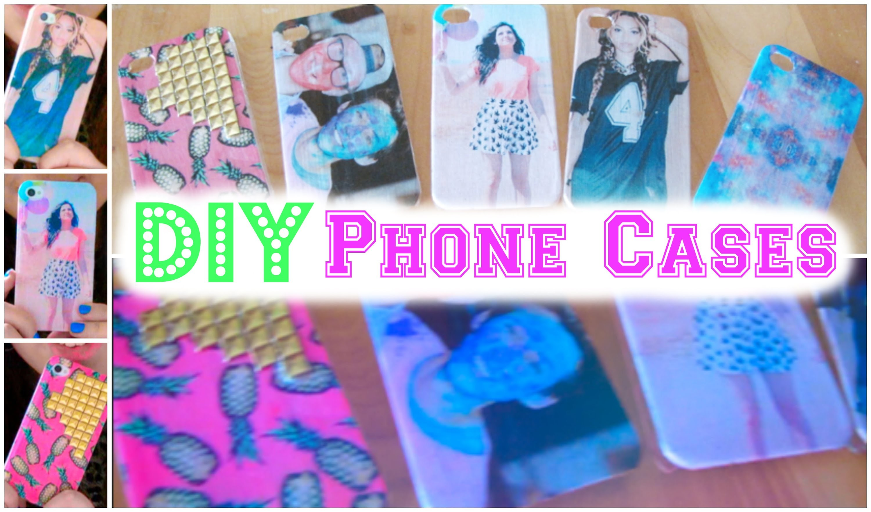 DIY Phone Cases | Wildflower, Bethany Mota +More | Cheap & Easy | CartneyBreanne
