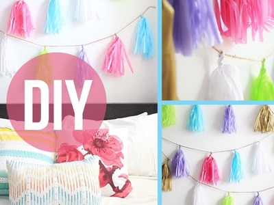 DIY Room Decor: Anthropologie Inspired Garland