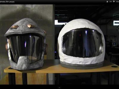 DIY Space Helmets (film props)