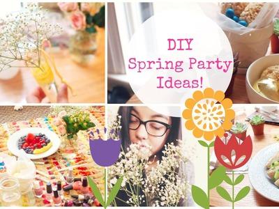 DIY Spring Party Ideas! ☀ (Easy + Fun!)
