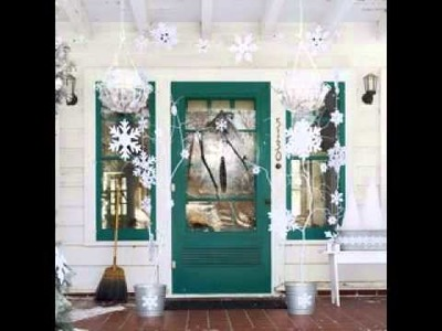 DIY White christmas decoration ideas