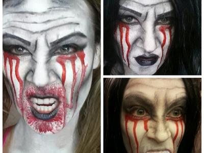 Evil Zombie Witch Halloween 2013 Makeup Tutorial (DIY QUEEN ORIGINAL)