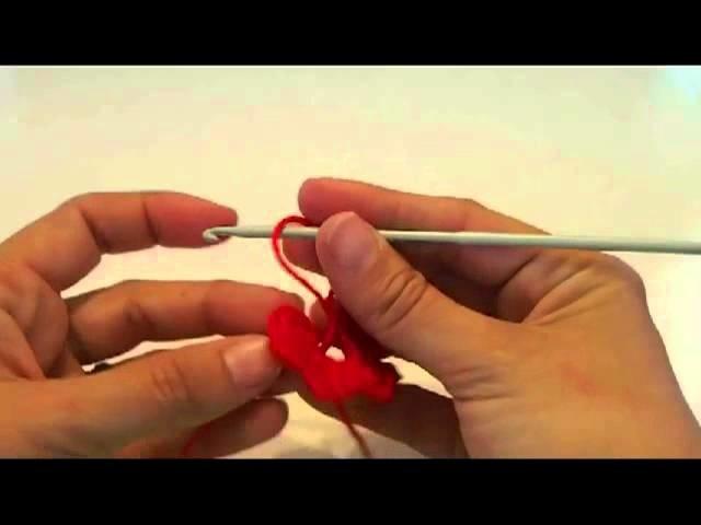 Flor crochet muy facil. easy crochet flower tutorial