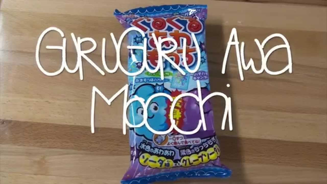 GuruGuru Awa Mocchi DIY Japanese Candy Kit Tutorial | How To