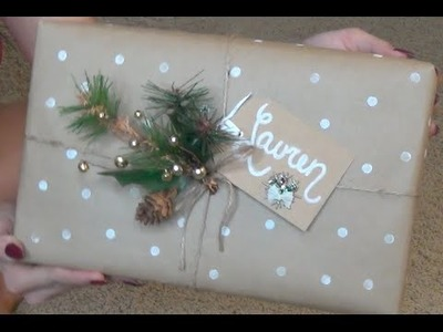 Holiday Gift Wrapping Ideas!