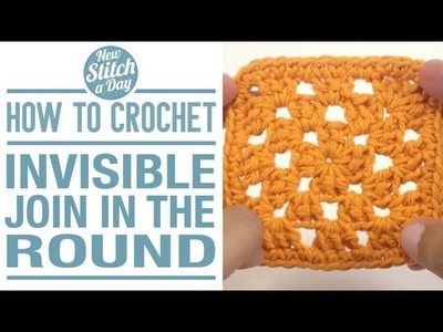 How to Crochet an Invisible join in the Round