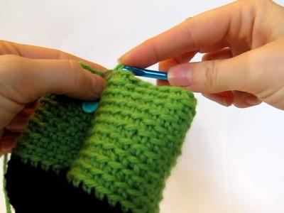 How to crochet standing legs in amigurumi