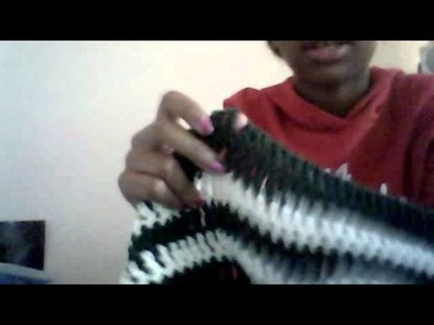 How to finger knit (thick)