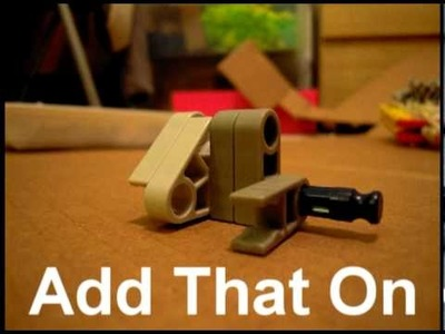 How to Make A Knex Turret Pistol