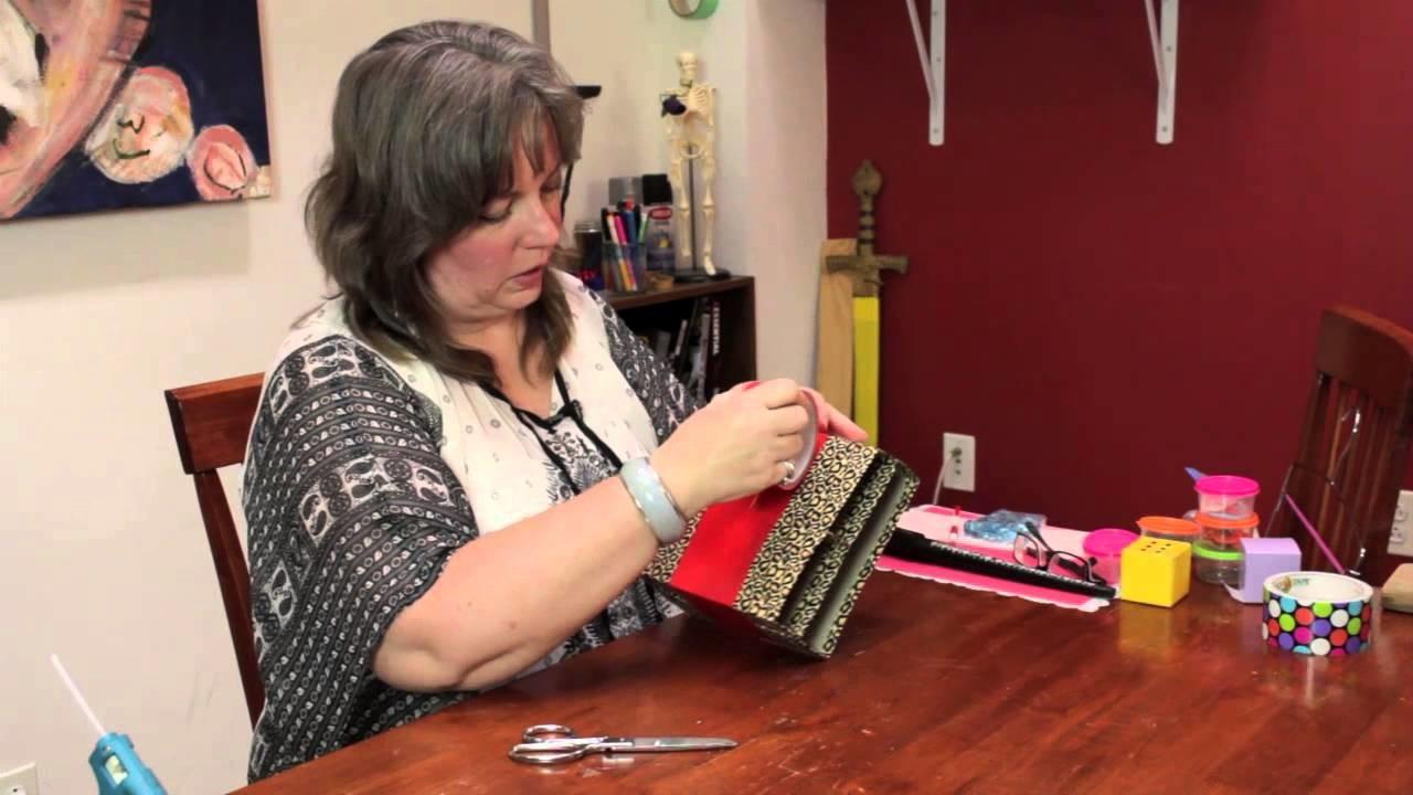 How to Make a Personal Organizer for a Handbag : Homemade Crafts