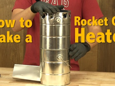 How to Make a Rocket Can Heater