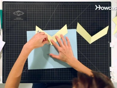 How to Make a V-Fold Lifter | Pop-Up Cards